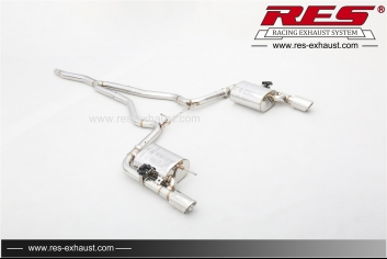 Ford Mustang 2.3T   All SS304 / Valvetronic Catback System