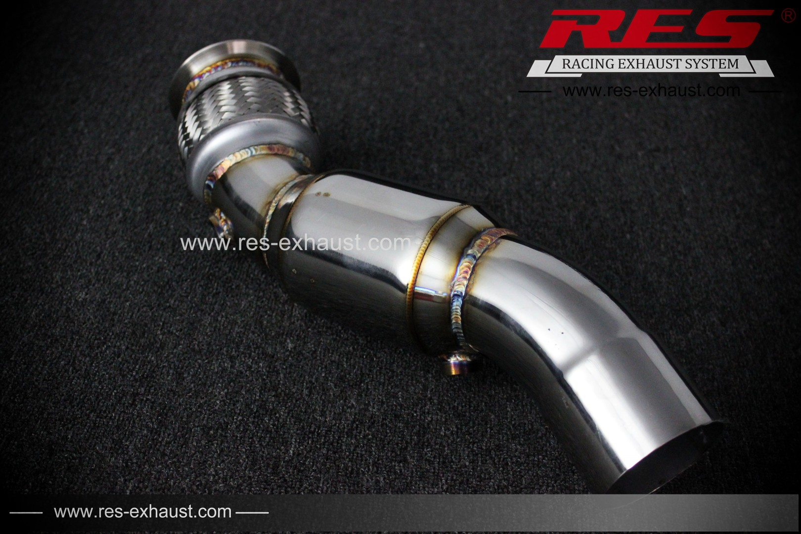 BMW X5-Downpipe-RES Exhaust » High Performance Exhaust