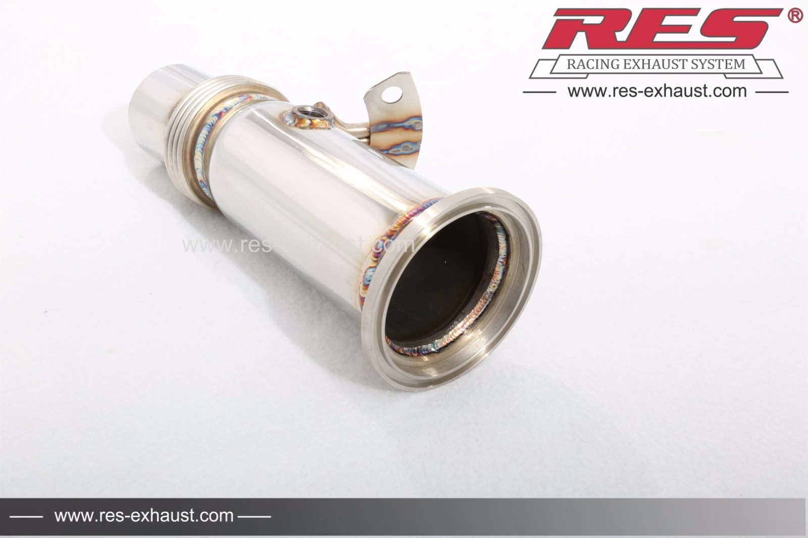 Bmw I8 Decat Catless Downpipe Res Exhaust High Performance