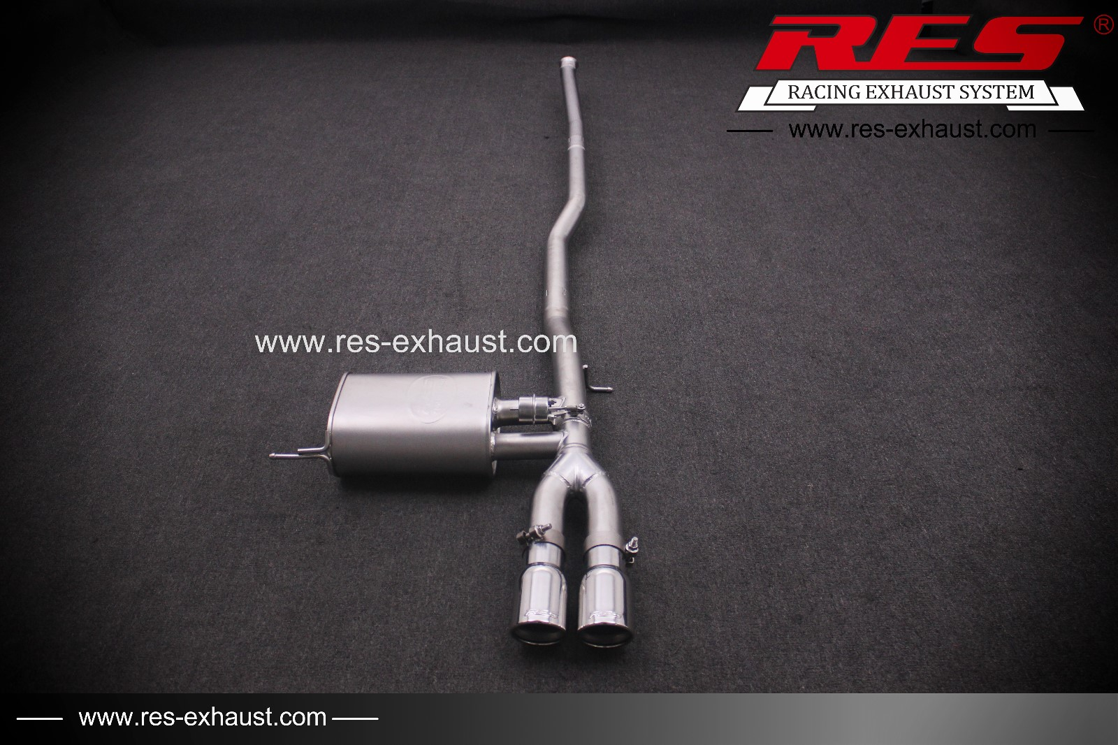 All SS304 / Valvetronic Catback System-RES Exhaust » High