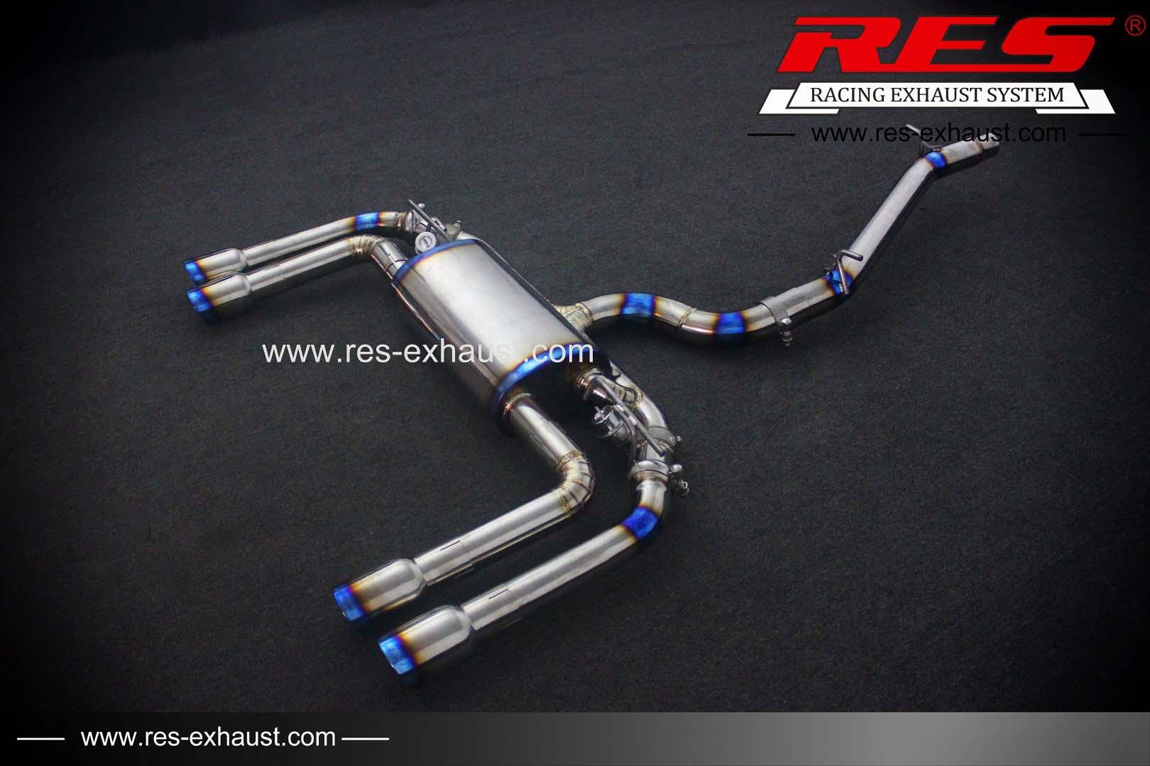 Titanium / Valvetronic Catback System-RES Exhaust » High