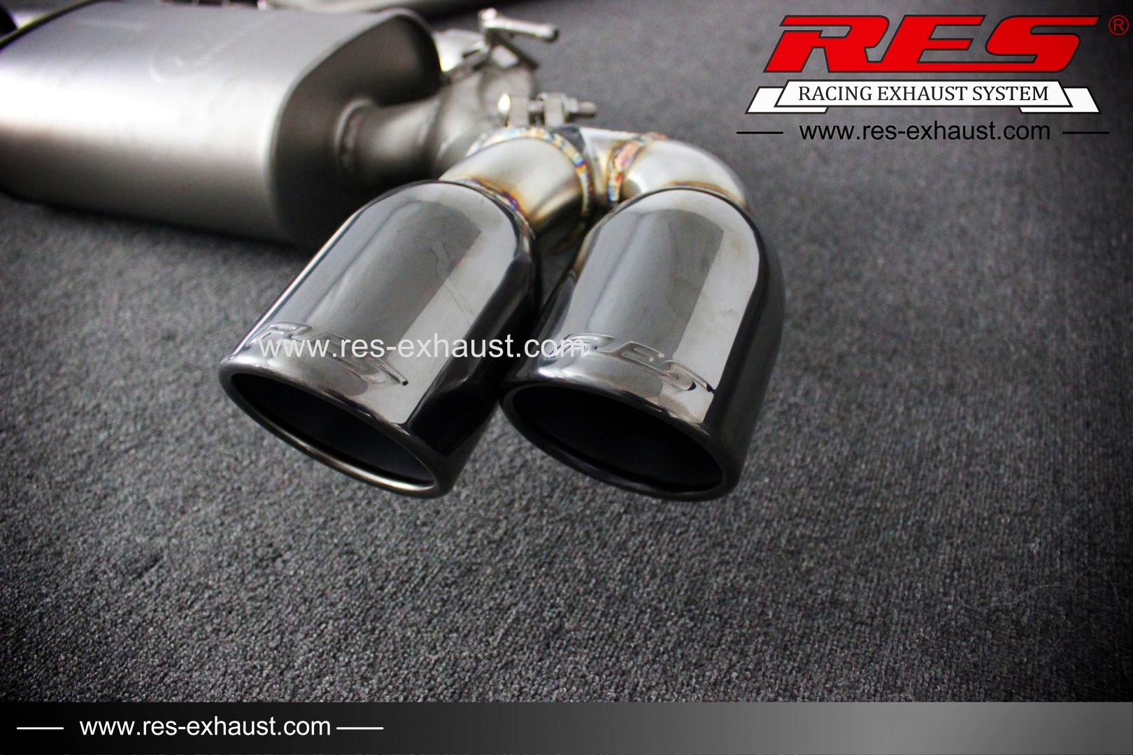 BMW X5-Valvtronic Catback-RES Exhaust » High Performance